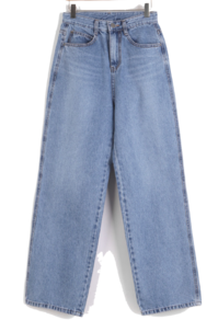 Kaon straight denim pants
