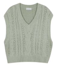 Humming Twist Knitwear Vest