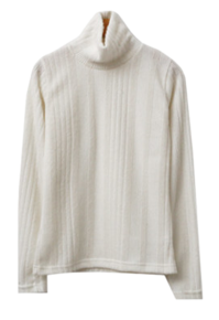 Bell Fleece-lined Turtleneck T-shirt