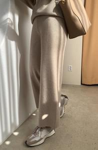 《Planned Product/Set Recommendation》Lounge Wide Knitwear Pants