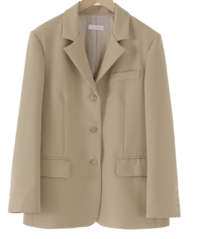 Hayes Boxy tailored jacket