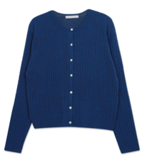 Ralph cable wool cardigan