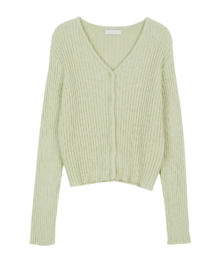 Louis Ribbed slim cardigan