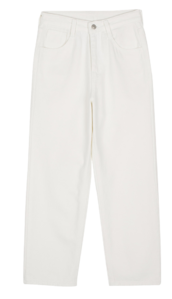 Story cotton straight jeans