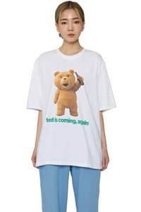 Big Ted printed short sleeve T-shirt