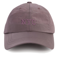 New York nylon cap
