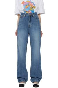 After straight jeans