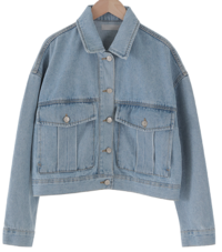 Cracker pocket denim jacket