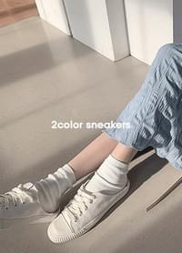 Yulkie square nose mule sneakers
