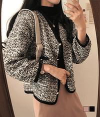 Claire pearl tweed jacket