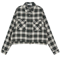 Potts check cropped shirt 襯衫