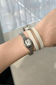 Bracelet steel watch