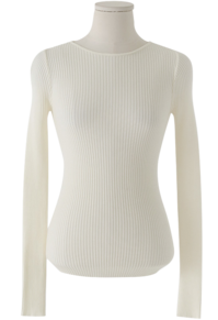 Olsen slim Ribbed T-shirt