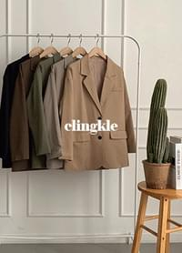 Clinkle overfit jacket