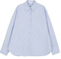 Pure oversized cotton shirt