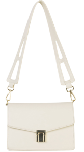 Hug buckle square shoulder bag