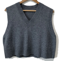 Daily V Neck Knit Vest