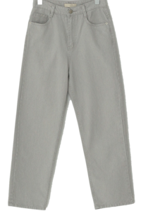 Delua Faded cotton Baggy trousers