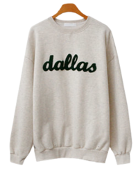 Dallas Fleece-lined Sweatshirt