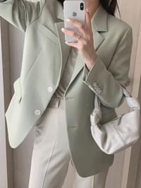 Formal Boxy Fit Jacket
