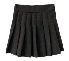 Wool Mini Pleated Skirt