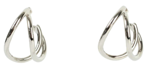 Two-elve circle earrings