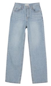 Earth blue straight jeans