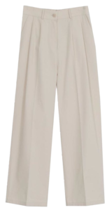Tuze Pin Tuck Cotton Pants (3color)