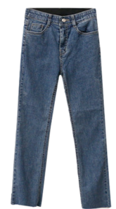 Buffy Dark Denim Pants