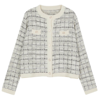 Charles Tweed Knitwear Cardigan