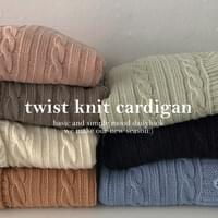 Inno Twisted Rouge Cardigan