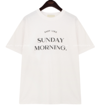 Sunday-Themed Print T-Shirt