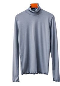 Dao Wave Turtleneck T-shirt