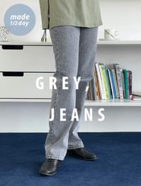 Move Faded Gray Jeans