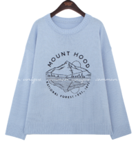 MOUNTI LETTERING NEEDLE LOOSE KNIT