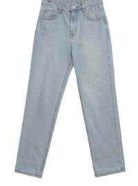 Tabi straight denim trousers