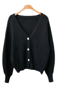 Body soft cardigan
