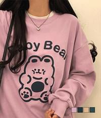 Baby Bear Rouge Sweatshirt