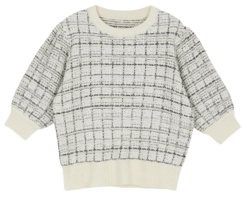 Juke Check Crew Neck Knitwear