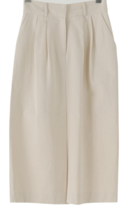 Mild Pintuck Banding Long Skirt