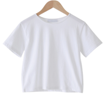 Jackie cropped cotton T-shirt