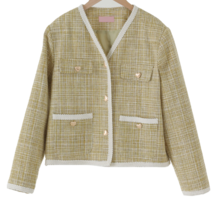 Love Tweed V-Neck Jacket