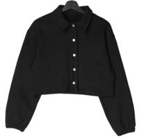 Merrow collar cropped jacket