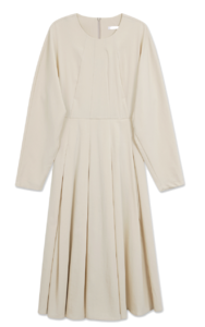 Anne front pleated Dress