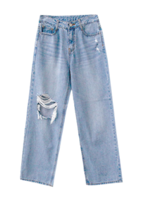 Summer Vintage denim pants
