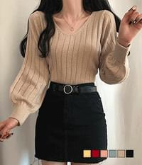 Propose Ribbed Crop Knitwear