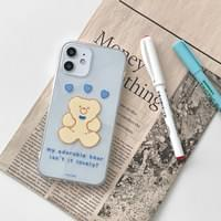 My Affordable Bear Heart iPhone Case
