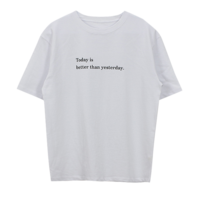 Today Lettering T-shirt