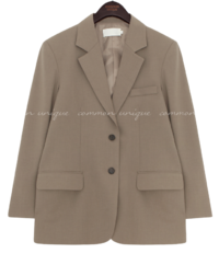 Basic Notch Lapel Jacket