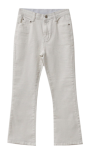 Comfortable Flared cotton pants